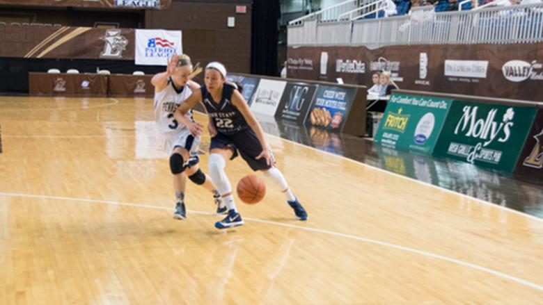 PSU-LV women's basketball player