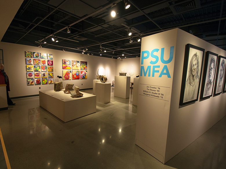 photo of the Ronald K. De Long Gallery at PSULV