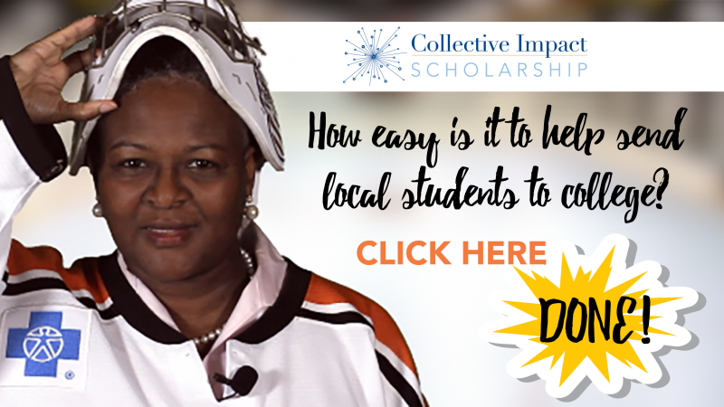 Donate now to the Collective Impact Scholarship Fund