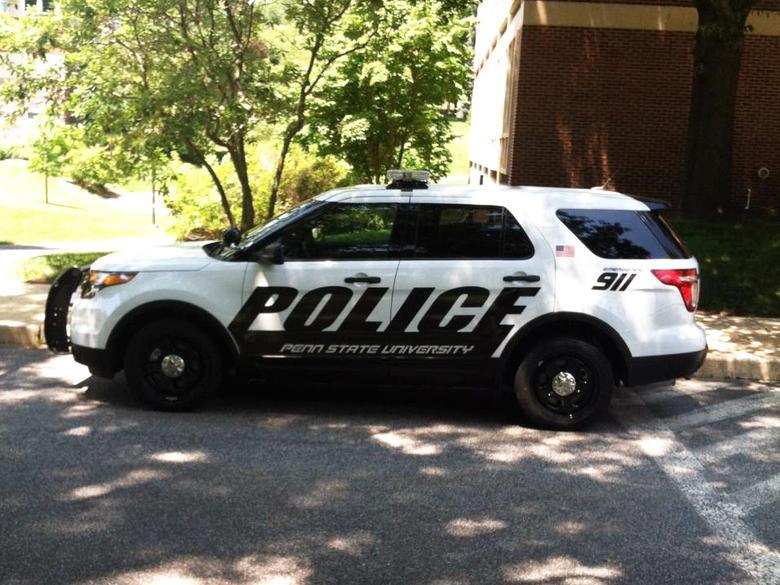 penn state university police car