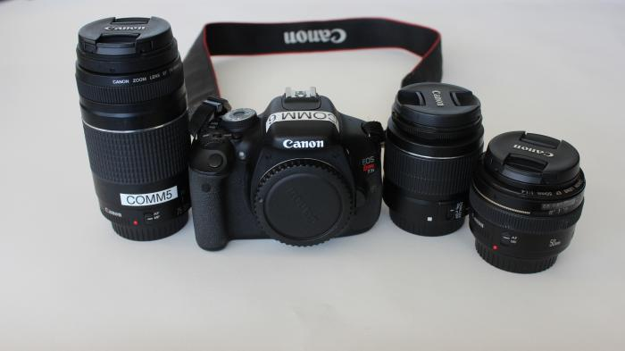 Canon Rebel camera kit