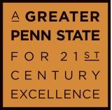 A Greater Penn State for 21st Century Excellence campaign logo