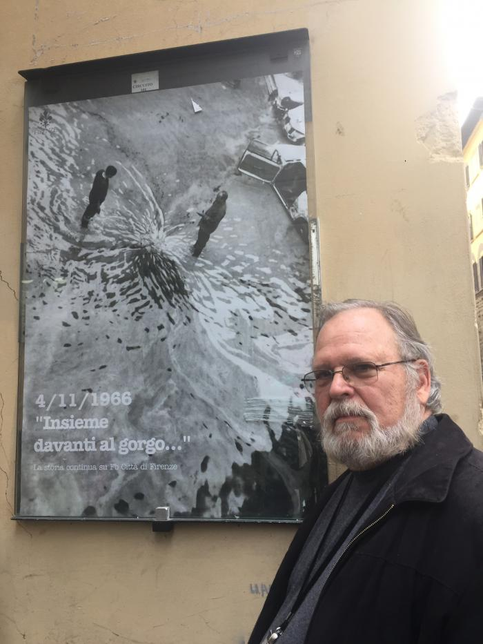 Kenneth Thigpen in Florence