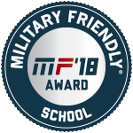 Military Friendly School award badge