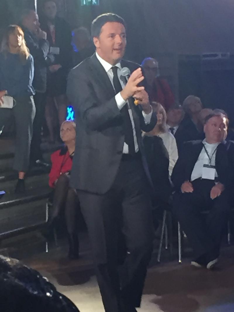 Prime Minister of Italy Matteo Renzi