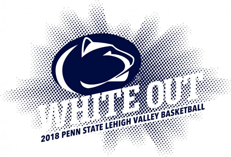 Penn State Lehigh Valley basketball white out