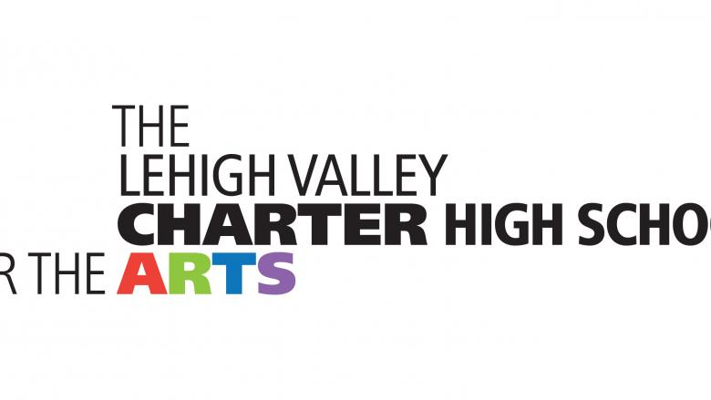 Logo that reads the Lehigh Valley Charter High School for the Arts