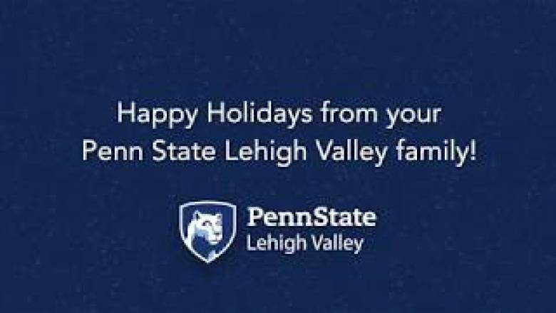 Penn State Lehigh Valley Holiday Video 2019